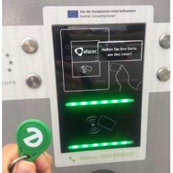 RFID Token charge station Allego